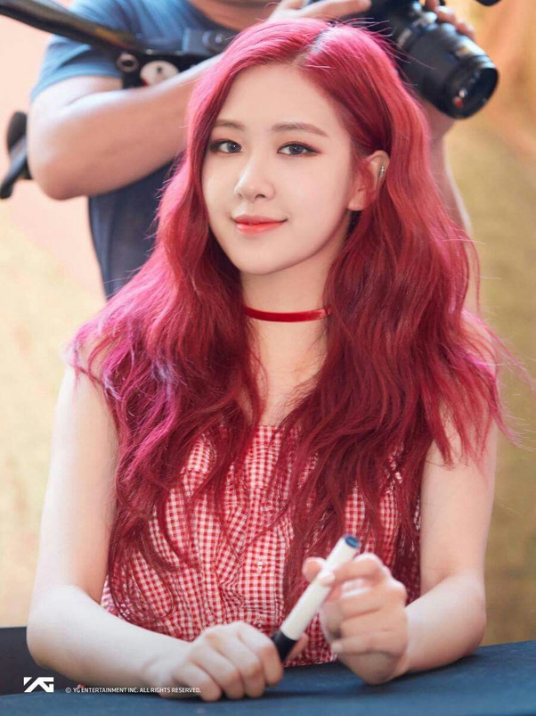 Rose with Pink Hairs